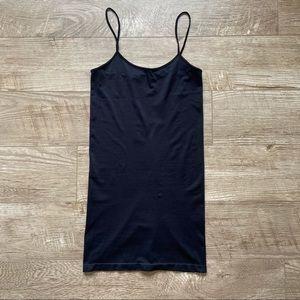 Black Bodycon Spaghetti Strap Dress size o/s